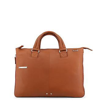 Piquadro Men Brown Briefcases -- CA40731248