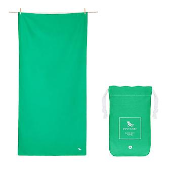 Dock & bay quick dry towel - classic - everglade green