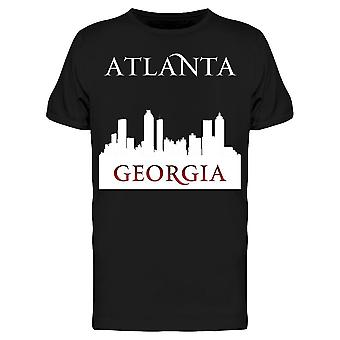Atlanta Georgia Silhouette Art Tee Men's -Kuva Shutterstock