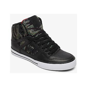 DC Pure High-Top WC SP Trainers in Zwart/Camo Print