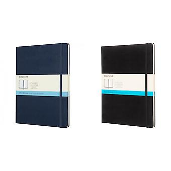 Moleskine Classic XL hard cover gestippelde notebook