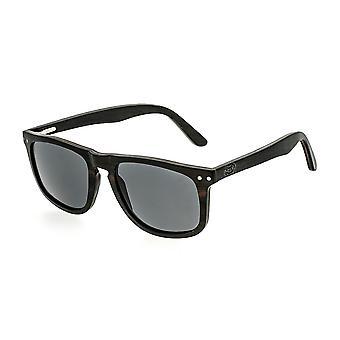 Earth Wood Pacific Polarized Sunglasses - Espresso/Black