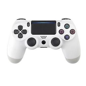 Witte draadloze Bluetooth PS4 PlayStation 4 GamePad-controller