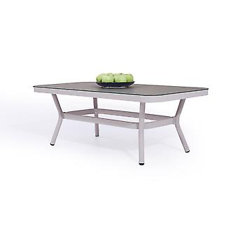 Alu Table Marina - gris de soie