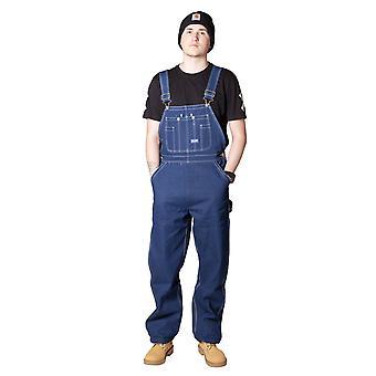 Big Smith Mens Indigo denim trabalho jardineiras