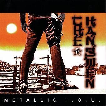 Bødlerne - Metallic I.O.U. [CD] USA importerer