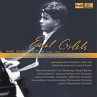 Beethoven / Bach, C.P.E. / Bach, J.S. - Emil Gilels Edition [CD] USA import