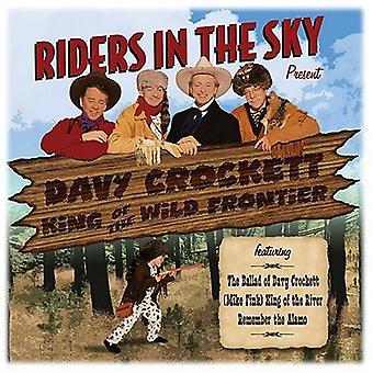 Riders in the Sky - Davy Crockett-King of the Wild Frontier [CD] USA import