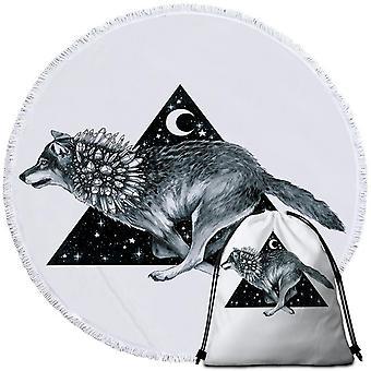 Night Wolf ranta pyyhe