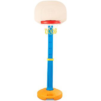 Free Standing Basketball Stand Easy Score Basketball Hoop Toy Game Adjustable
