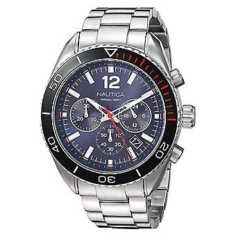 Nautica Watch NAPKBN004 - Plated Stainless Steel Gents Quartz Chronograph