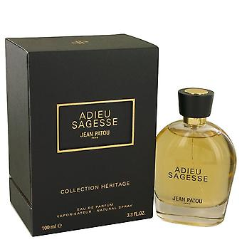 Adieu Sagesse Eau De Parfum Spray By Jean Patou 3.3 oz Eau De Parfum Spray