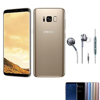 Samsung S8+ 4+64gb single card gold smartphone Original