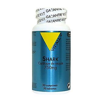 Shark Shark Cartilage 750 mg 90 tablets of 750mg