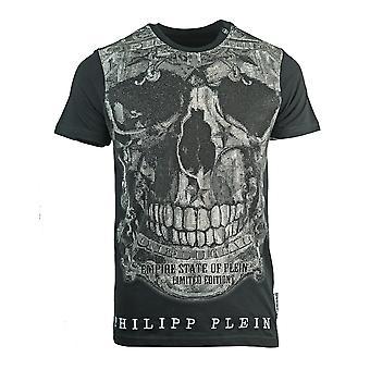 Philipp Plein Limited MTK1449 02 t-paita musta