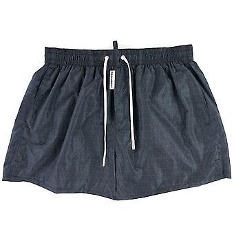 Dsquared2 Swim Shorts & Underwear Dsquared2 Swim & Underwear Print Shorts Navy