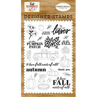 Carta Bella syksyn sadonkorjuu selkeät postimerkit