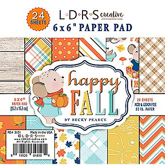 LDRS Creative Happy Fall 6x6 Inch Paper Pack