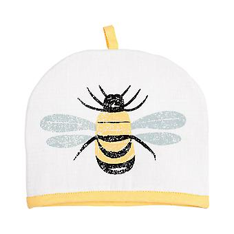 Dexam Bees Knees Tea Cosy 2 Cup, Yellow