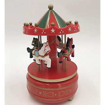 Merry Go Round Music Boxes - Geometric Music Baby Room Decoration, Unisex