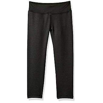 Essentials Girls' Active Capri Legging, Zwart, XL