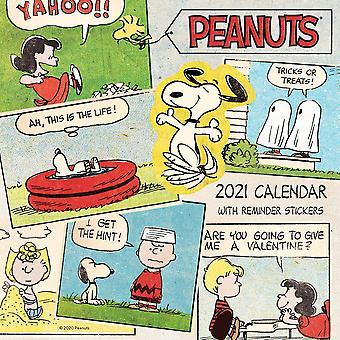 Peanuts Kalender 2021 Officiële kalender 2021, 12 maanden, originele Engelse versie.