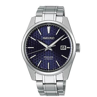 Seiko Watches Spb167j1 Presage Blue & Silver Stainless Steel Automatic Men's Watch