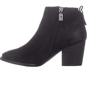 Aqua Womens Nancy NuBuck Mandel Toe Knöchel Mode Stiefel