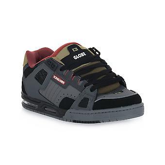 Globe sabre charcoal blk brown skate shoes