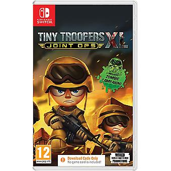 Tiny Troopers Joint Ops XL Switch Game (Code in a Box)