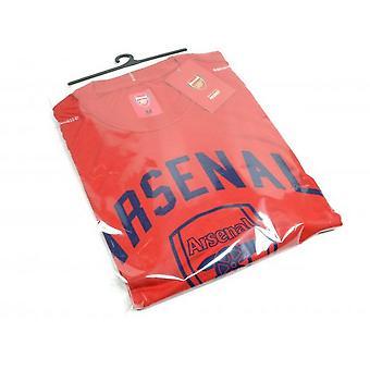 Arsenal FC Unisex Adult Crest T-Shirt
