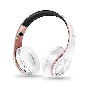 Hifi Stereo Earphones Bluetooth Headphone Music Headset Fm And Sd Card With Mic For Mobile Xiaomi Iphone Samsung Tablet