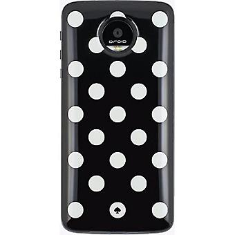 Kate Spade StylePack Moto Mod for Moto Z Droid, Moto Z Force Droid - Blue Black/White Dot