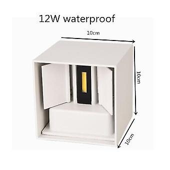 Ip65 Waterproof 6w 12w 15w Indoor Outdoor Led Wall Lamp