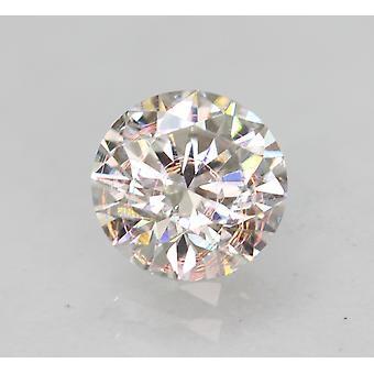 معتمد 0.58 قيراط E VS1 جولة رائعة المحسنة الطبيعية فضفاضة الماس 5.42mm