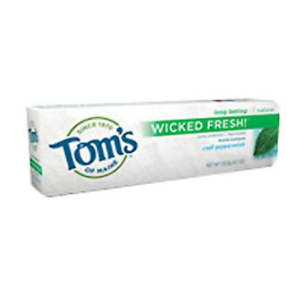 Tom's Of Maine Wicked Fresh Fluoride Toothpaste, Cool Peppermint 4.7 oz