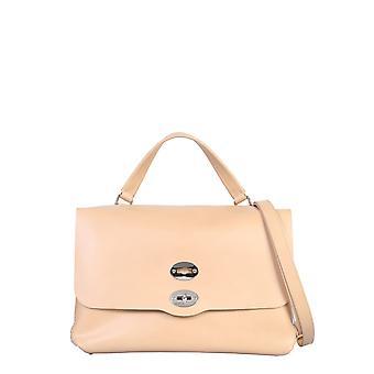 Zanellato 613451v2 Women's Nude Leather Handbag