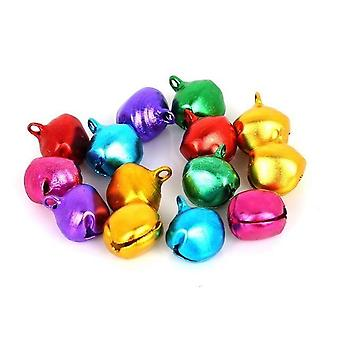 Small Jingle Bells Aluminum Loose Beads For Festival Party, Christmas Tree