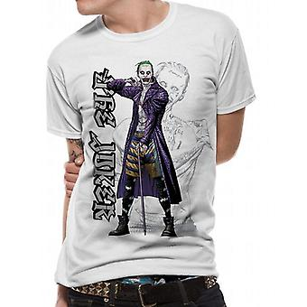 Suicide Squad aikuiset Unisex aikuiset sarja kuva Joker T-paita