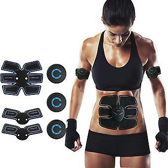 USB dobíjacie Trainer Elektrické Smart brušné svalovej stimulátor