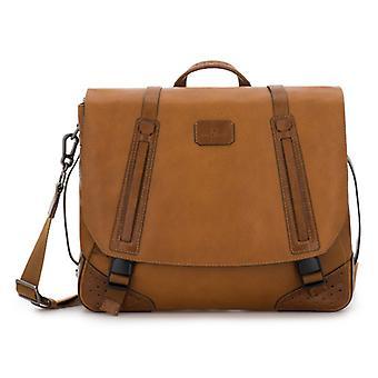 Route 66 Läder Messenger Bag