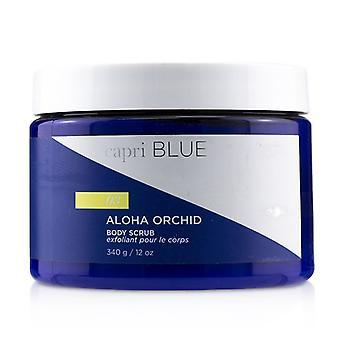 Capri Blue Signature Body Scrub - Aloha Orchid 340g/12oz
