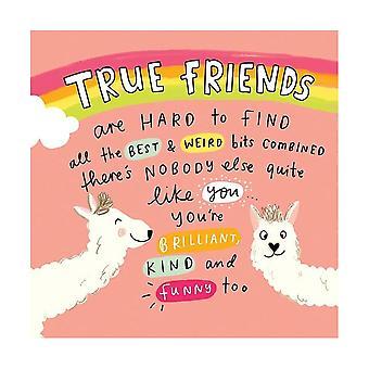 Pigment The Happy News True Friends Llamas Card