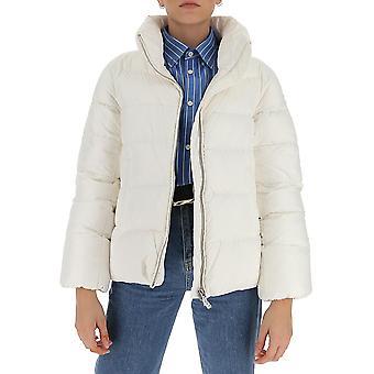 Aggiungi 2aw3011132 Women's White Nylon Down Jacket