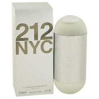 212 av Carolina Herrera Eau de Toilette Spray (ny förpackning) 2 oz (damer) V728-414610