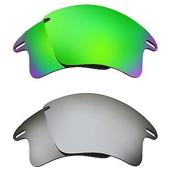 Polarized Replacement Lenses for Oakley Fast Jacket XL Sunglasses Anti-Scratch Anti-Glare UV400 SeekOptics