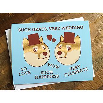 نجاح باهر مثل Grats مثلي الجنس أو مثليه بطاقة الزفاف