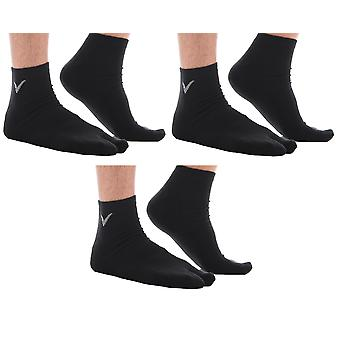 Athletic Solid Flip Flop Knöchel Socken