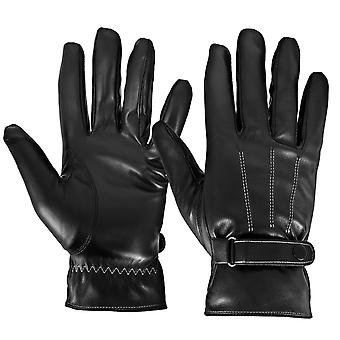 Unisex Touch Screen Gloves Fluid Tactile Preserved Tactile Leather Appearance