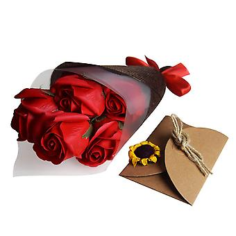 Roses of Soap in Gift Box